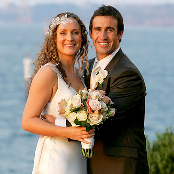 ANDREW Johns married his sweetheart of five years in a opulent Frenchthemed