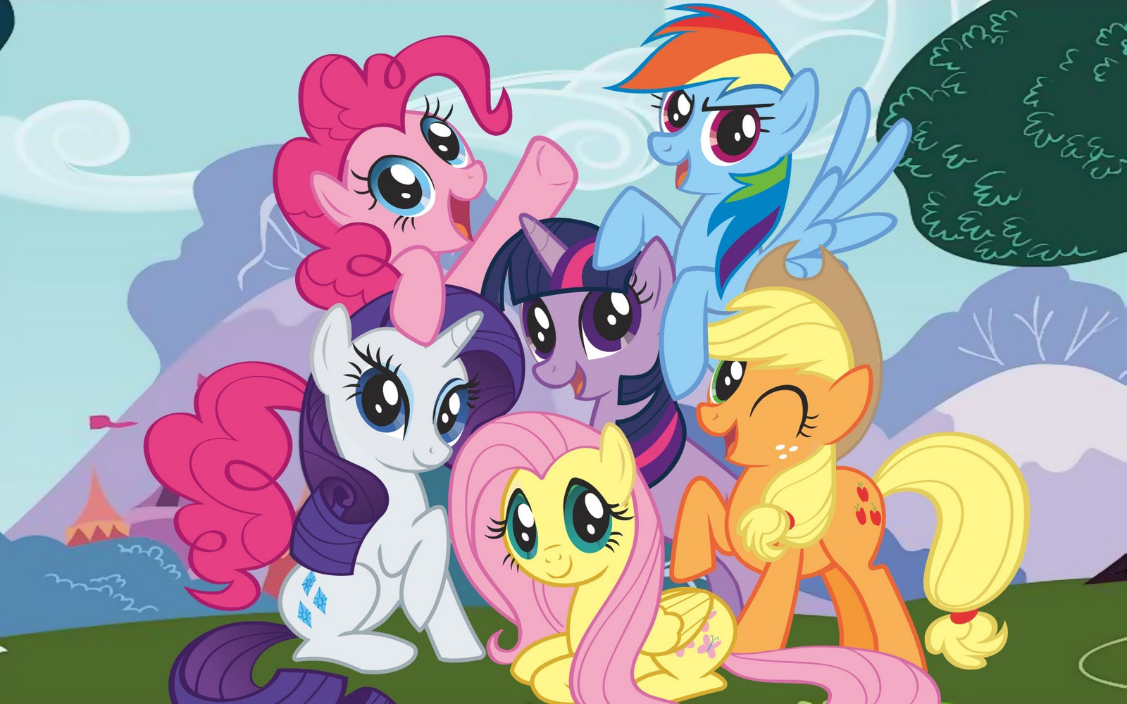 My Little Pony Wallpaper 23 Wallpapers Adorable Wallpapers