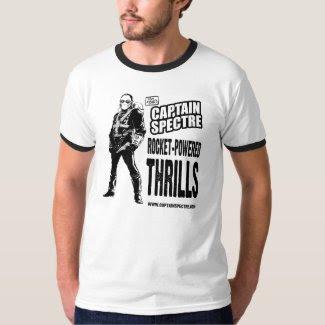 Captain Spectre Rocket shirt shirt