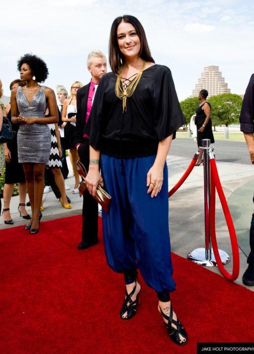 at the Austin Fashion awards