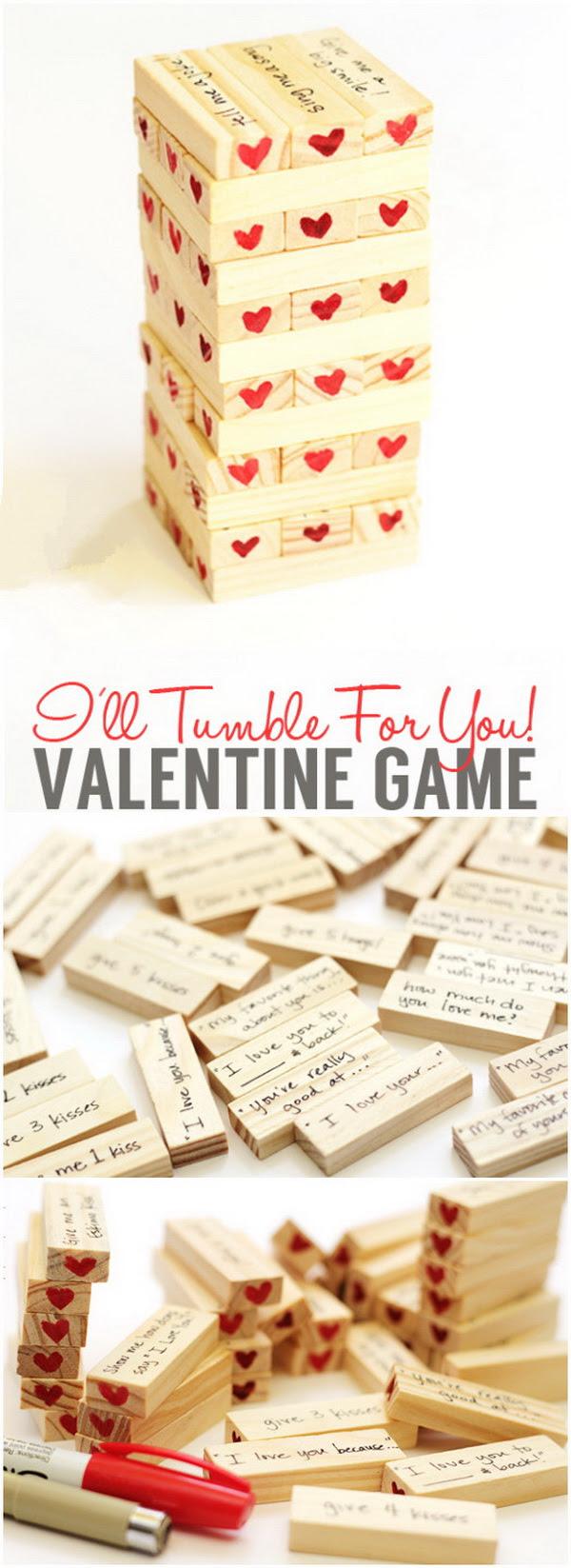 Diy Valentine Gifts For Her Vallentine Gift Card