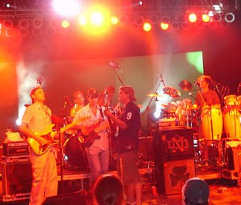 Umphrey's McGee performing at the Bonnaroo Mus...