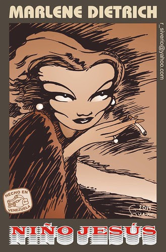 Marlene Dietrich by Niño Jesús