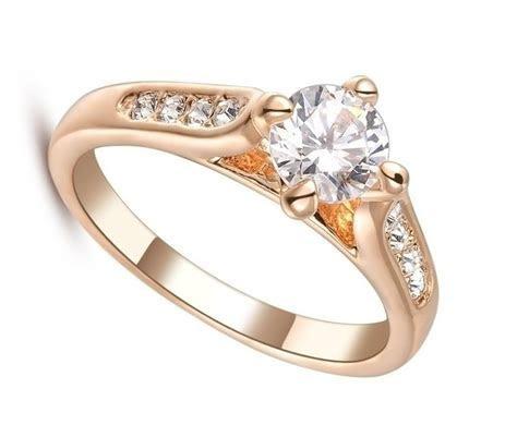 Wholesale Fashion Imitation Diamond Jewelry Wedding Ring