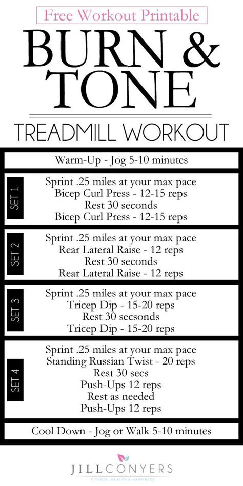 images  treadmill workouts  pinterest