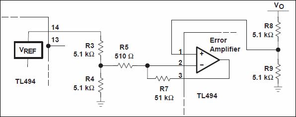 TL494-lỗi-khuếch đại-section