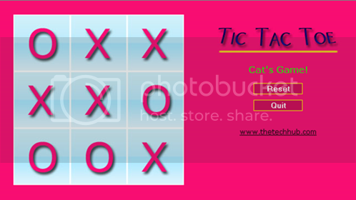 Free Nokia 5800 Game – Tic Tac Toe