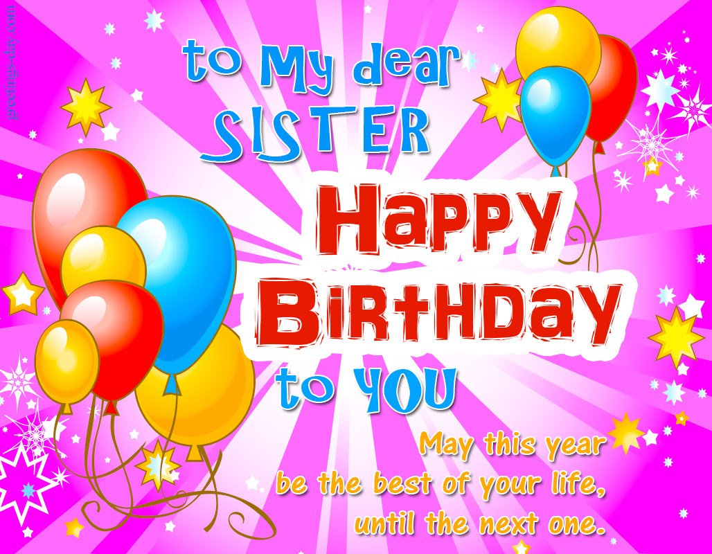 Best 100 Happy Birthday Sister Wishes Images Funny Hd Free