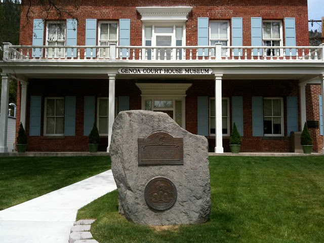 Genoa Pony Express Monument