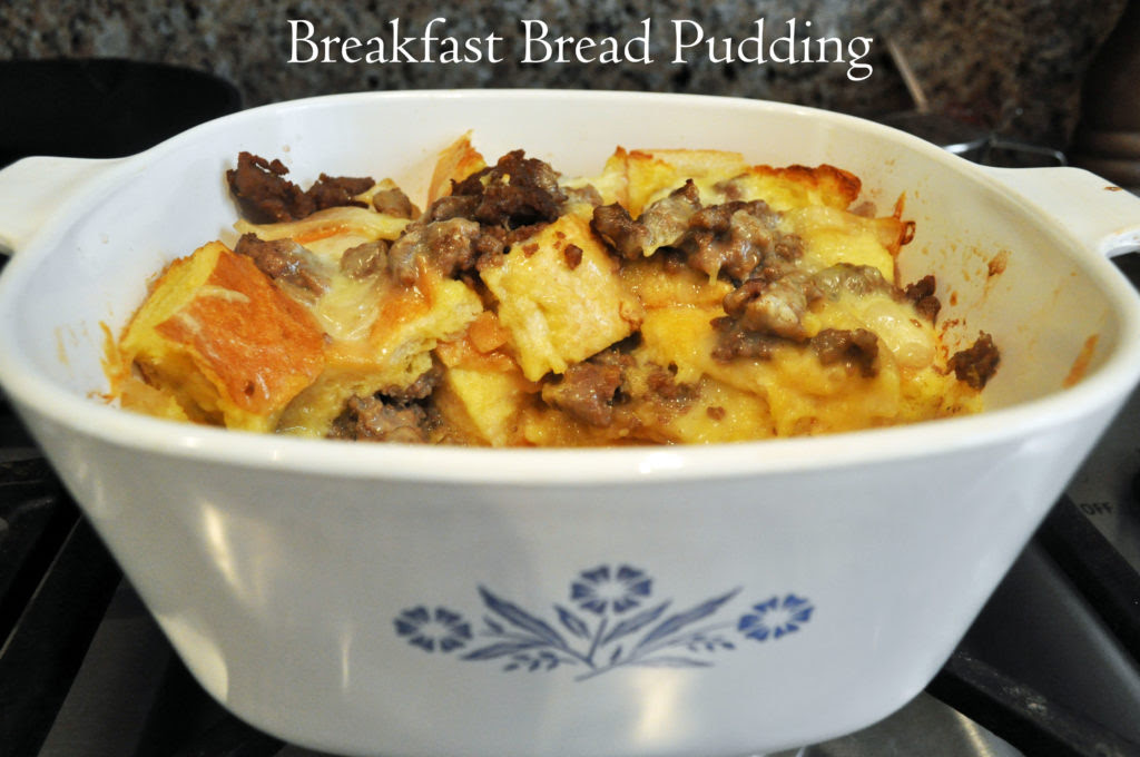 Sunday Breakfast Bread Pudding - Laura K. Bray Designs