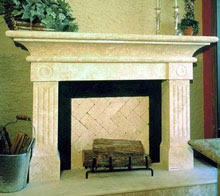 Fireplace Mantels Cantera Fireplace Mantels Travertine Tile Slabs Pavers Marble Tile Cantera Tile Slabs Pavers Moldings Listellos Mosaics Medallions Cantera Stone Fireplace Mantels And Surrounds Chimeneas De Cantera