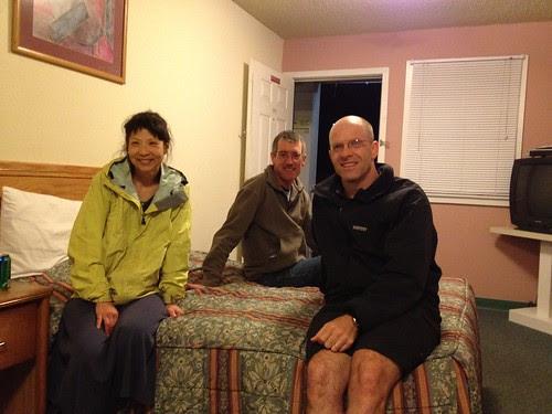 Jennifer, Bill G, and Kole