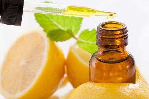 Cura com azeite limão