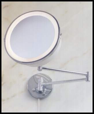 Magnifying Lighted Makeup Mirror Airbrush Mania