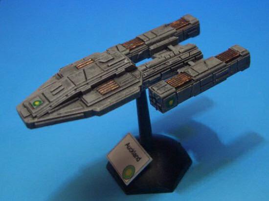 PacFed battleship