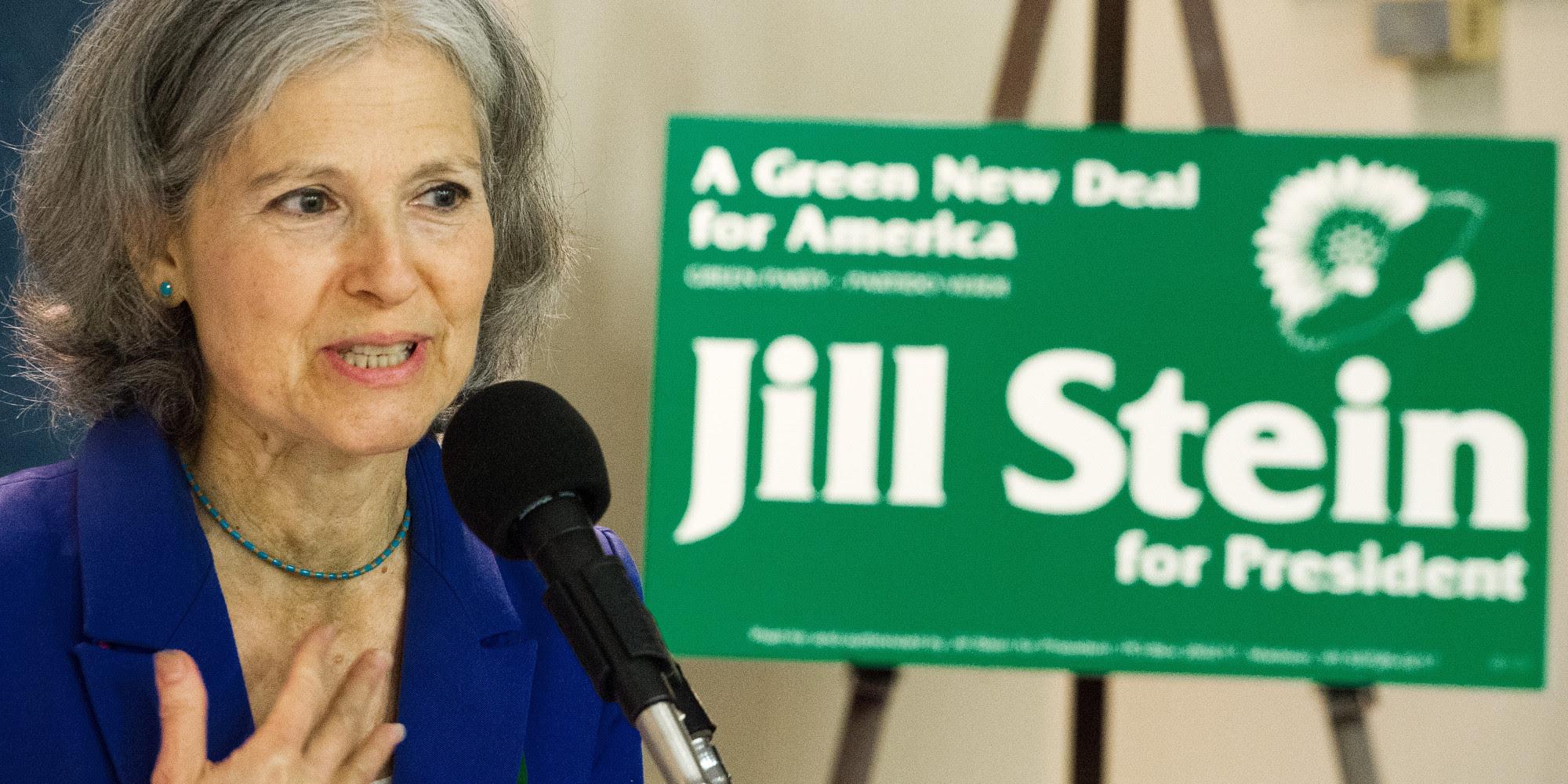 US Green Party leader Jill Stein