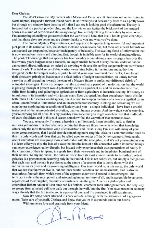 Click to see Alan Moore's letter.