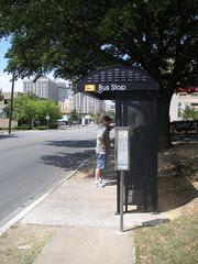 Bus Stop on Gaston