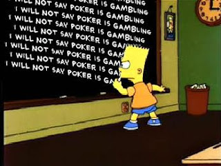 Fox Network doesn't want poker announcers suggesting the players are gambling for money