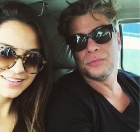 Pally Siqueira e Fábio Assunção: novo casal (Foto: Reprodução/Instagram)