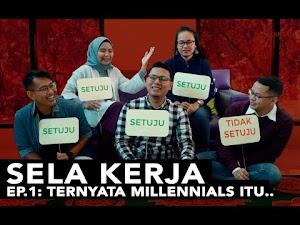 stereotipe yang diterima oleh generasi millennials menggelitik para generasi millennials di Rumah Perubahan untuk berdiskusi