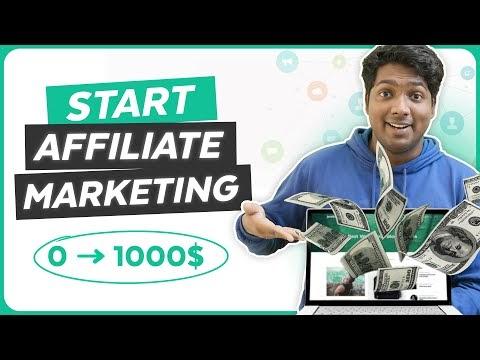 How to Start an Affiliate Marketing Website