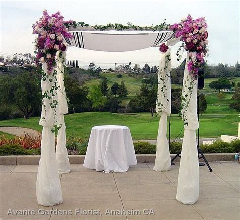 Jewish wedding ceremony flowers     County Florist Since