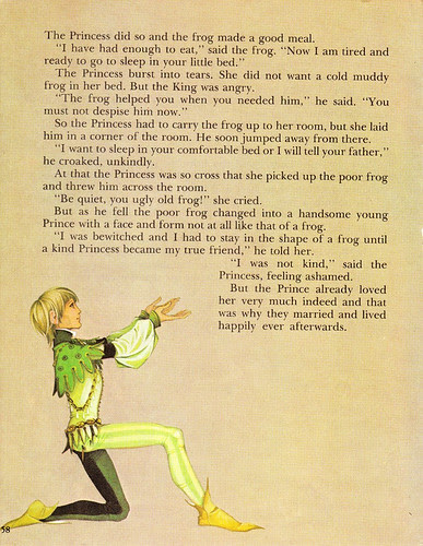 The Frog Prince - Vintage Illustration Storybook Print - Deans A Book of Fairy Tales 2