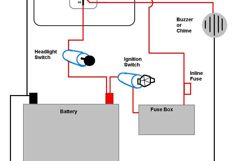 Basic Motorcycle Light Wiring Diagram