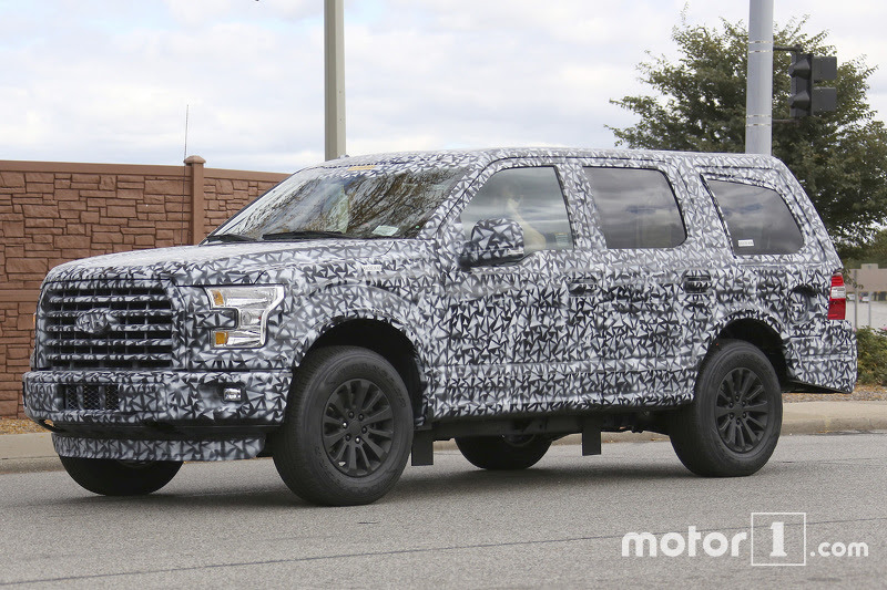 2017 Ford Expedition spy photo | Main gallery | Motor1.com
