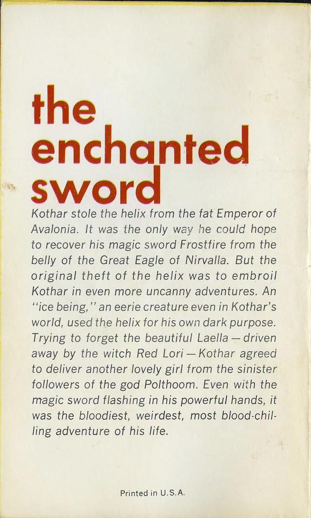The Enchanted Sword_tatteredandlost