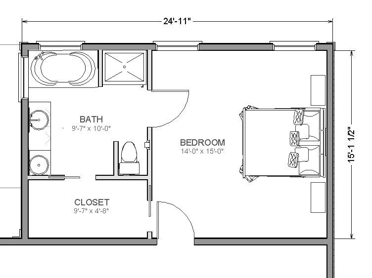 Master Suite Addition: Add A Bedroom