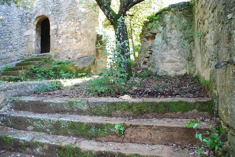 Resultat d'imatges de ermita SANT CEBRIA a sant esteve de Llèmana
