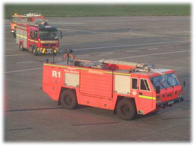 Emergency Equipment at Shannon Field, Ireland
