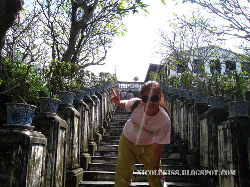 stairs to the summer palace of king 4th