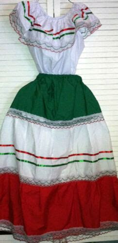 mexican traditional dresses collection  ebay
