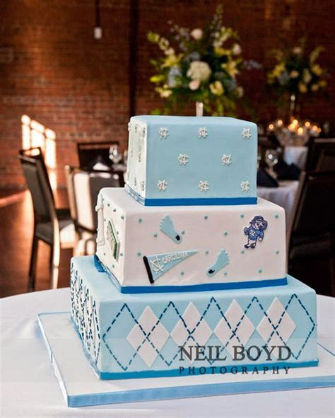 UNC groom's cake for wedding rehearsal dinner. UNC