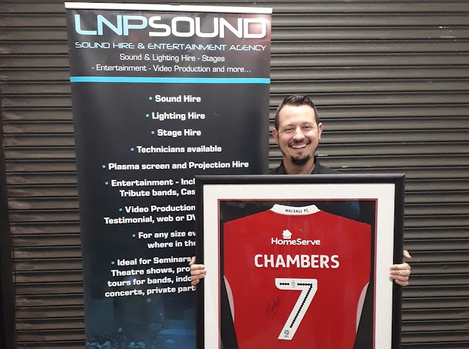 Walsall Announce Partnership With LNP Sound