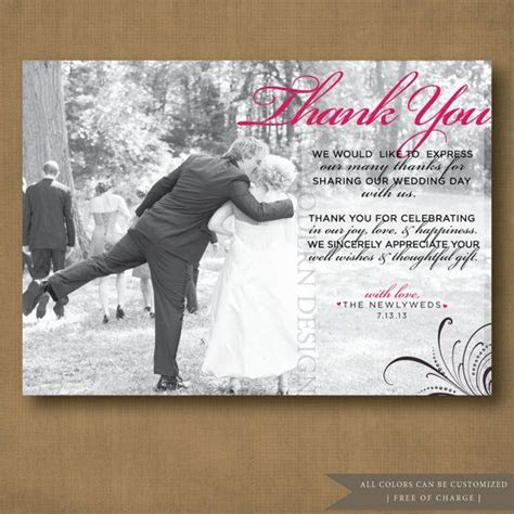 Best 25  Wedding Thank You ideas on Pinterest   Wedding