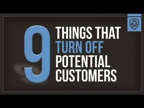 Small Business Resources Cafe: 9 Things That Turn Off Potential Customers