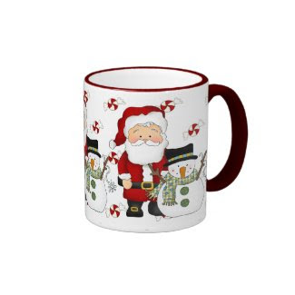 Christmas Pals Holiday coffee mug