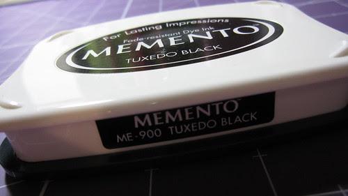memento Black Ink