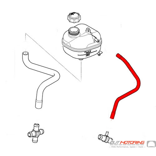 2001 Bmw 325i Radiator Hose Diagram