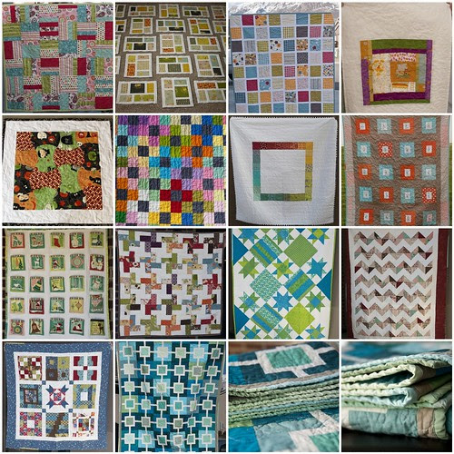 Finished Quilts of 2011