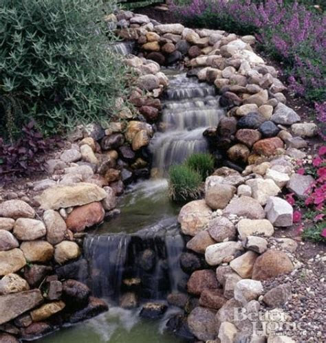 26 Amazing Garden Waterfall Ideas   Style Motivation