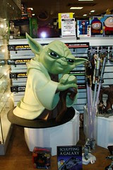 Yoda @ Forbidden Planet