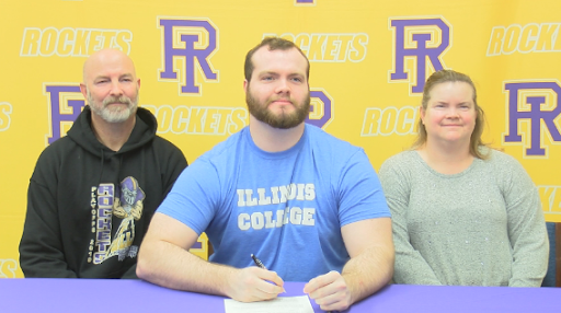 Avatar of Rushville-Industry's Zach Johnson signs with Illinois College – WGEM