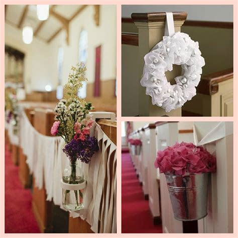 church wedding pew decorations ? The Latest Home Decor Ideas