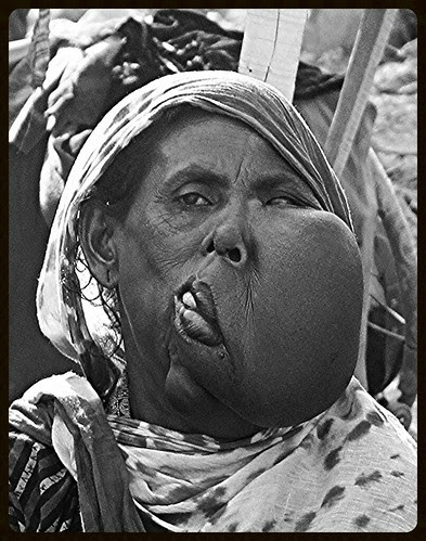 The Lady With Two Faces by firoze shakir photographerno1