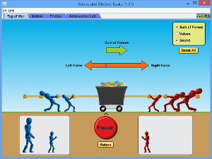 The Blog of Phyz: Pushing Things Around—A new PhET Activity